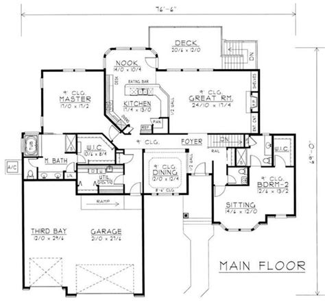 Basement In Law Suite Floor Plans by House Plans With Mother In Law Suites Contemporary