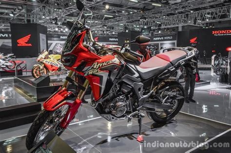 bentley motorcycle 2016 honda crf1000l africa twin red at auto expo 2016 indian