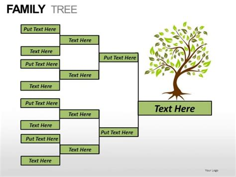 Family Tree Powerpoint Presentation Slides Powerpoint Family Tree