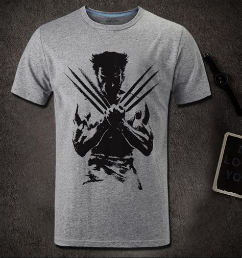 Tshirt X The Wolverine 48 Roffico Cloth popular wolverine t shirt buy cheap wolverine t shirt lots