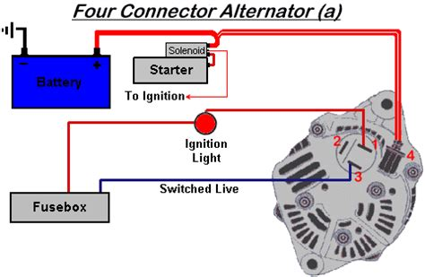 westfield world kitcar support site wiring a nippon denso alternator