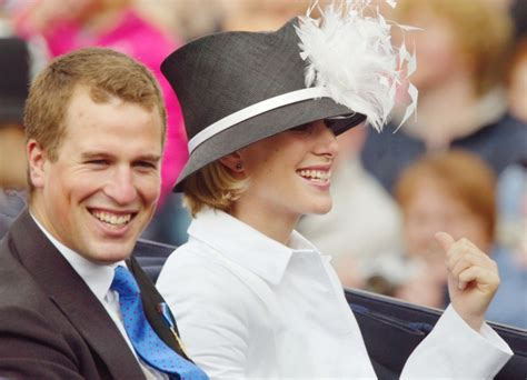 Phillips Sun L by Phillips L And Zara Phillips Ride In A Carriage At