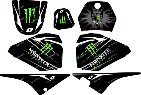 Sticker Yamaha Pw 80 by Monster Graphics Decal Stickers Yamaha Pw80 Pw 80 Ebay