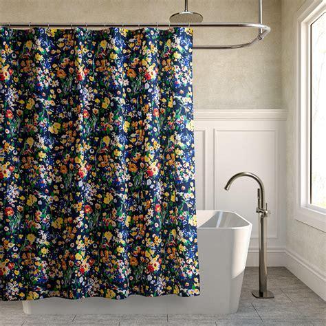 teen shower curtain teen vogue folksy floral shower curtain from wayfair shower