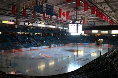 Upholstery Kamloops by Interior Savings Centre Era Arena Gets New Name
