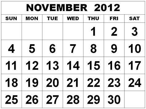 Free Printable Calendar November December 2012 | calendar 2012 free printable calendar november 2012