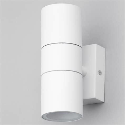 white outdoor wall lights kenn up down light outdoor wall light white from litecraft