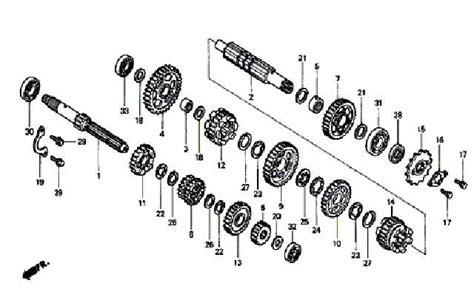 Bearing Krek As Cbr 150 R 91001 Kpp 901 moto th honda cbr150r 2004 parts gearbox
