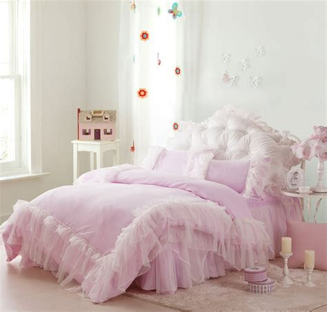 pink lace comforter pink lace comforter sets 4piece set bedding product 100