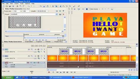 typography tutorial sony vegas sony vegas kinetic typography tutorial youtube