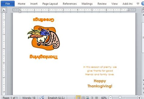 thanksgiving recipe card template best thanksgiving templates for microsoft word