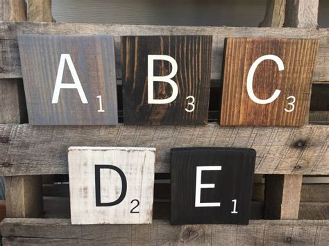 large wooden scrabble letters 17 best ideas about wooden scrabble tiles on