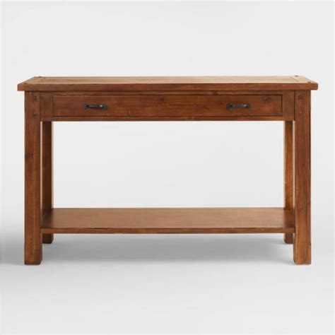 world market sofa table madera console table world market