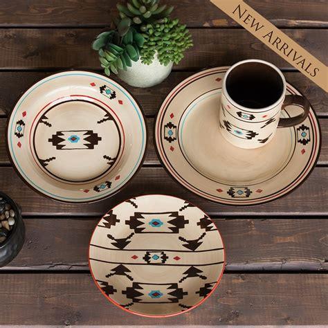 hxdi3510 artesia southwestern 16 piece dinnerware set
