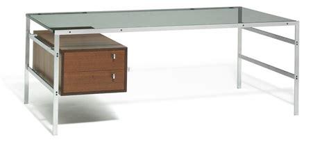 Clear Top Desk by Preben Fabricius J 248 Rgen Kastholm Freestanding Desk With