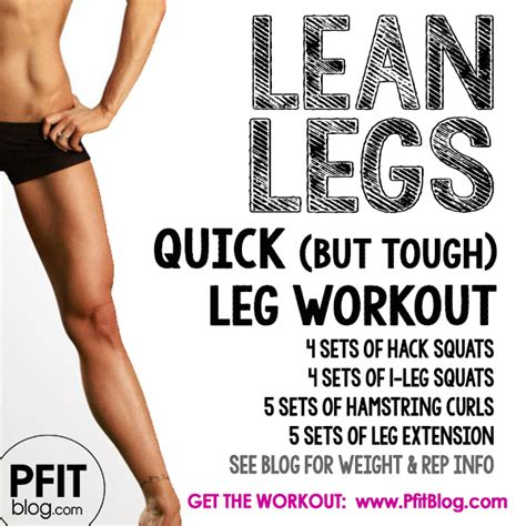 Tough It Out Or Adjust Your Workout by 16 Amazing Leg Workouts To Tone Your Lower