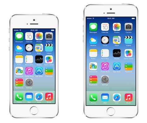 Screen Iphone 6 Pecah la transici 243 n de apple hacia el iphone m 225 s grande