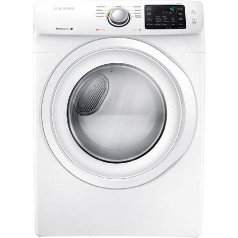 samsung dryer troubleshooting samsung 7 5 cu ft gas dryer in white dv42h5000gw the home depot