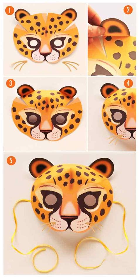 printable wild animal masks 333 best paper mask fun images on pinterest craft
