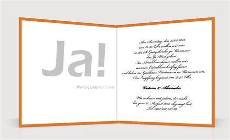 Hochzeitskarte Schreiben Muster Spr 252 Che Einladungskarten Hochzeit Igamefr