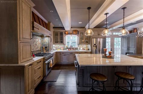 hickory kitchen cabinets in fairfax station virginia
