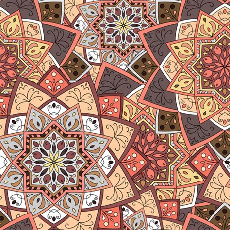 indian pattern vector download indian ornament pattern seamless vectors graphics 03