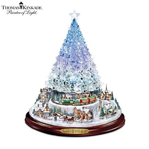 thomas kinkade harbor christmas tree officially licensed kinkade illuminated musical tree kinkade