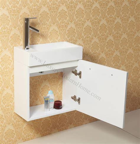 Narrow Bathroom Sink by Vanity Sink 20 Quot Small Narrow White Modern Bathroom