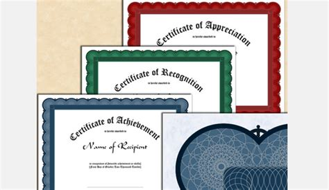5 Indesign Certificate Template Af Templates Indesign Certificate Template