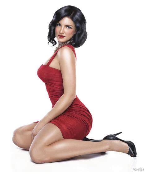 Gina Joy Carano Naked - gina carano the lowdown