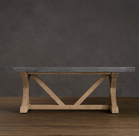 Restoration Hardware Concrete Dining Table Concrete Rectangular Dining Table Gp Office