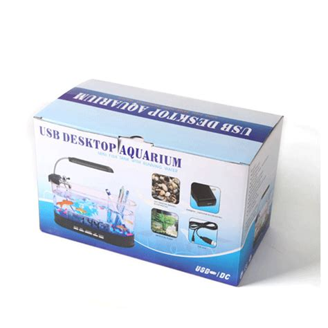 Usb Desktop Aquarium usb desktop aquarium mini fish tank with running water ls0405 transparent jakartanotebook
