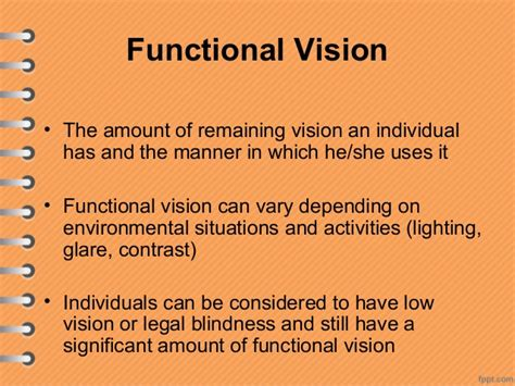 Legal Blindness Disability Understanding Visual Impairment