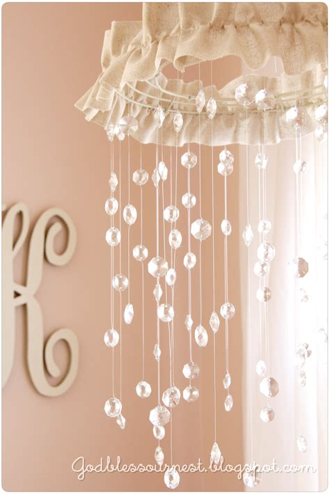 chandelier baby mobile god bless our nest diy baby mobile