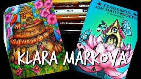 tenderful enchantments tenderful enchantments by klara markova coloring demo cake house picture youtube