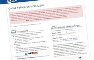 new car registration pa if you print your new vehicle registration form you