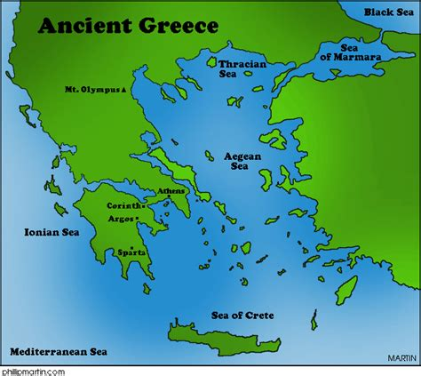 Ancient Greece Map by Geography Virtual Museum Webquest Of Ancient Greece