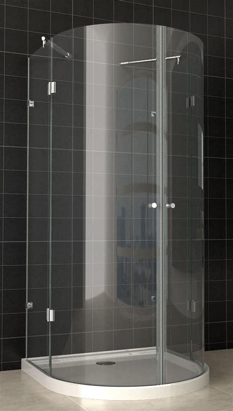 cabina doccia semicircolare cabina doccia semicircolare con 2 ante battenti vetro