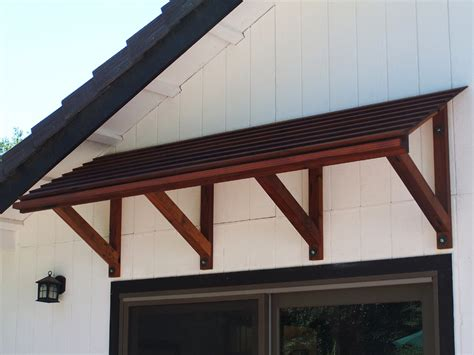 Wooden Awning by Placerville Cabinets Outdoor Gallery
