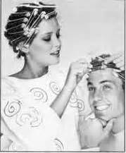 curlers in my husbands hair perm for my husband too hair rollers mania pinterest