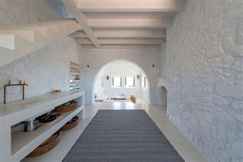 interni greece restored 17th century house in greece with modern