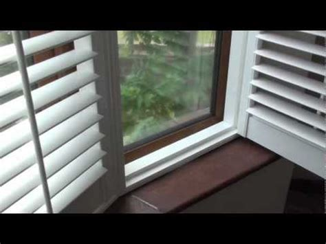 Window Treatment For Bow Window bay window shutters fitted to a 5 section round bay window