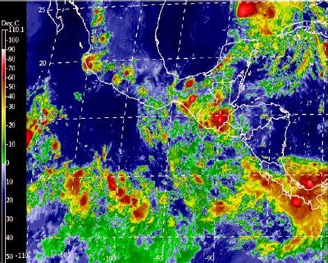imagenes satelitales del clima mexico visto desde el espacio