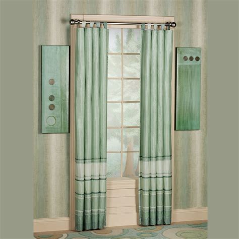 Curtains With Tabs Reflection Tab Top Curtain Pair