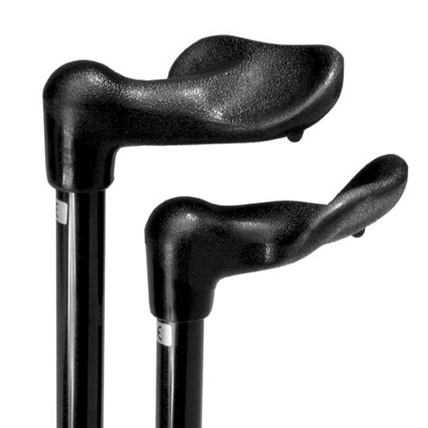 Folding ergonomic grip stick walking sticks clearwell mobility