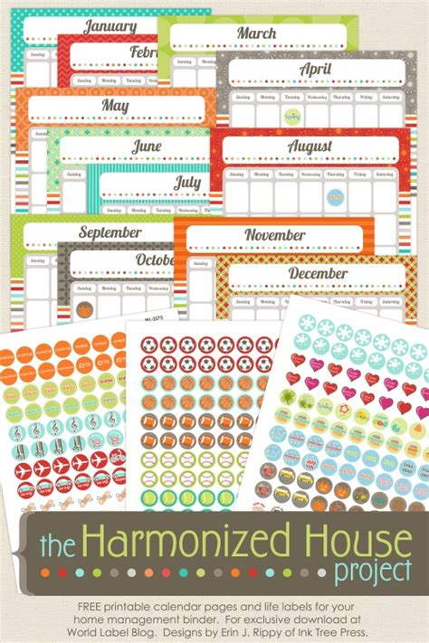 home organization templates 31 awesome and totally free organization printable
