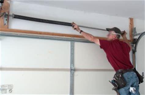 Diy Garage Door Springs by Wood Garage Door Installation Free