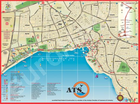 antalya map tourist attractions antalya map tourist attractions new zone