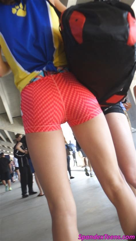 spandex shorts tween models video collection 25 spandex teens hd candid videos