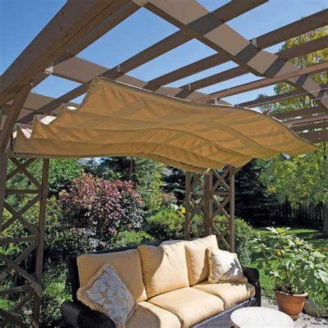 yardistry retractable sunshade sun shades at hayneedle